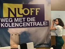 Greenpeace bezet hoofdkantoor Nuon om kolencentrale