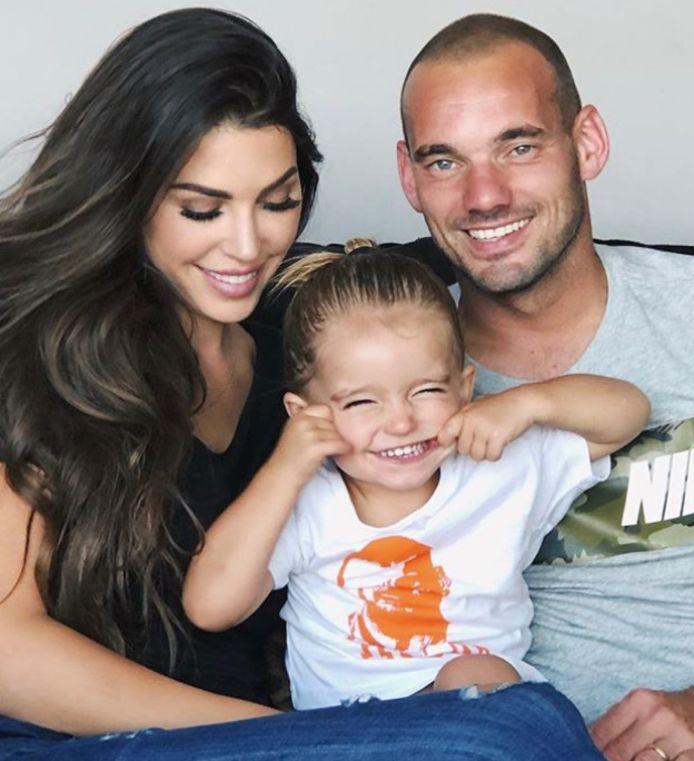 Yo en Wes met hun zoontje Xess Xava