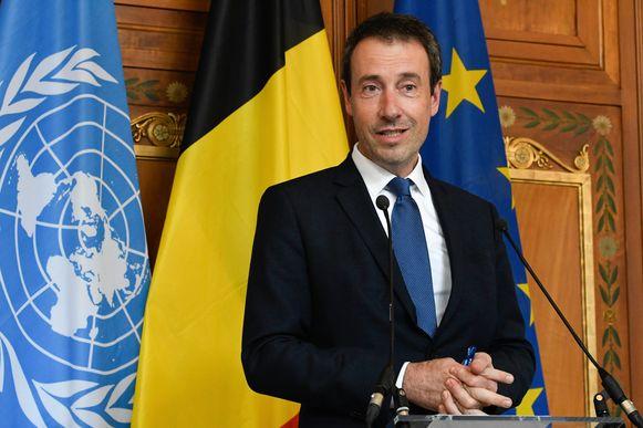 Minister van Buitenlandse Zaken Philippe Goffin (MR)