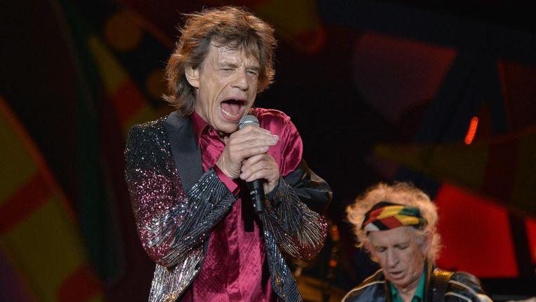 Mick Jagger van the Rolling Stones. Beeld afp