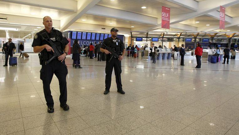 Verscherpte controle op Amerikaanse luchthavens. Beeld reuters