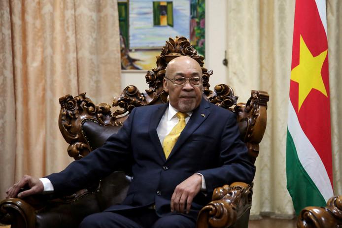 De Surinaamse president Desi Bouterse werd door een krijgsraad tot 20 jaar cel veroordeeld.