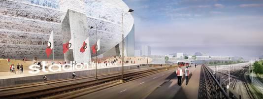 De plannen voor Feyenoord City.