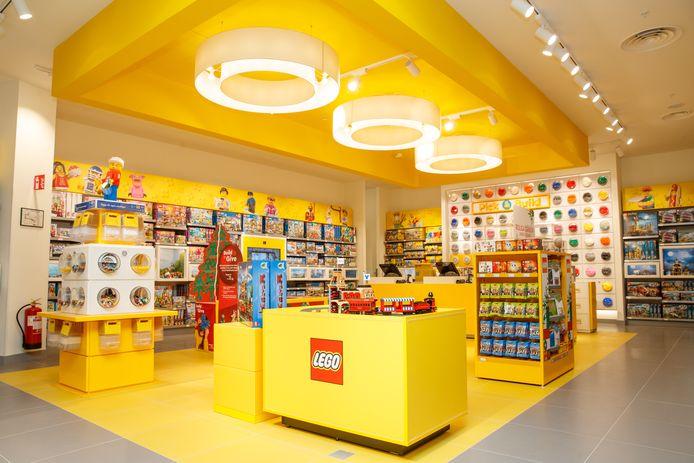 Het is de tweede Belgische vestiging voor LEGO in ons land. In het voorjaar van 2021 opent een store in de Brusselse Nieuwstraat.
