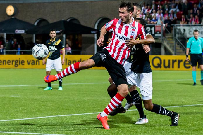 Paco van Moorsel speelde vorig seizoen nog in de eredivisie voor Sparta.