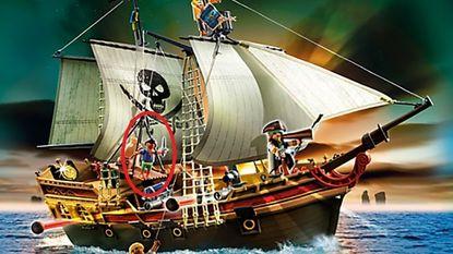 """Moeder geschokt door """"racistische piratenboot"""" van Playmobil"""