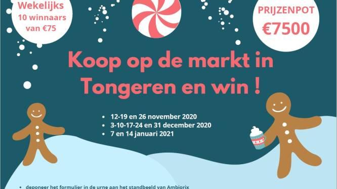 """Stad Tongeren komt met nieuwe winactie: """"Om ambulante handelaars te steunen"""""""