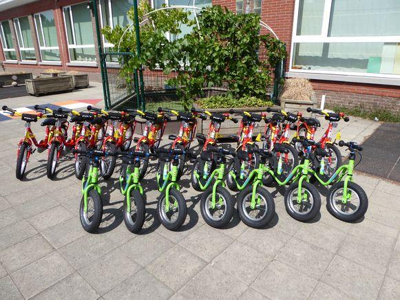 De provincie subsidieert de aankoop van fietsen.