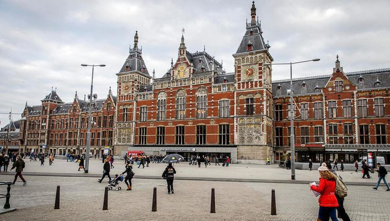 Amsterdam Centraal Station. Beeld anp
