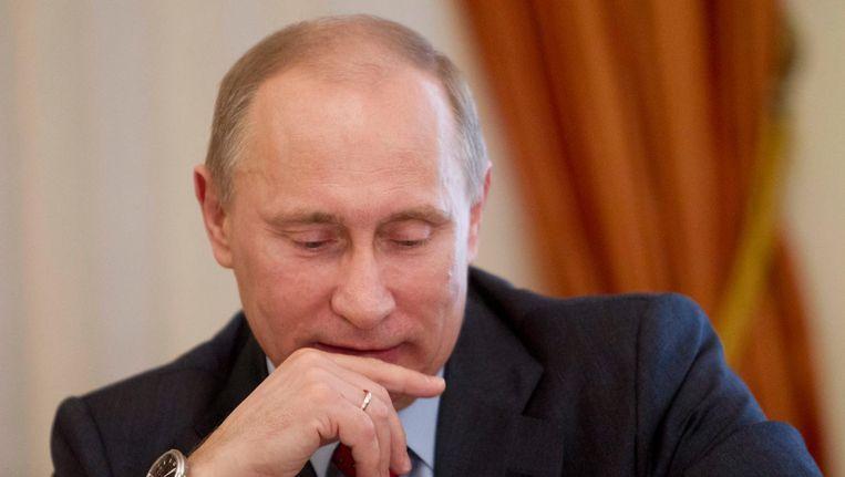 Vladimir Poetin. Beeld EPA