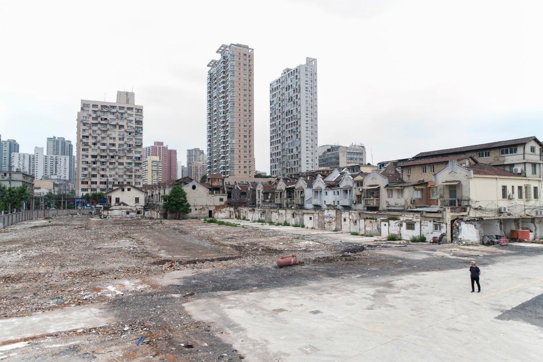 De buurt Wuheli in Shanghai.