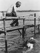 Zwemles in het Spui was vroeger een gewoonte voor duizenden Oud-Beijerlanders.
