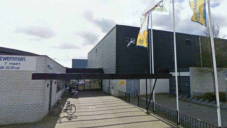Zwembad De Reeshof in Tilburg. Beeld Google Streetview