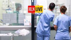 """LIVE. Ziekenhuizen nog niet bezorgd over stijgend aantal opnames - Rector UGent na drukte in Overpoort: """"Laat dit laatste wake-up call zijn"""""""