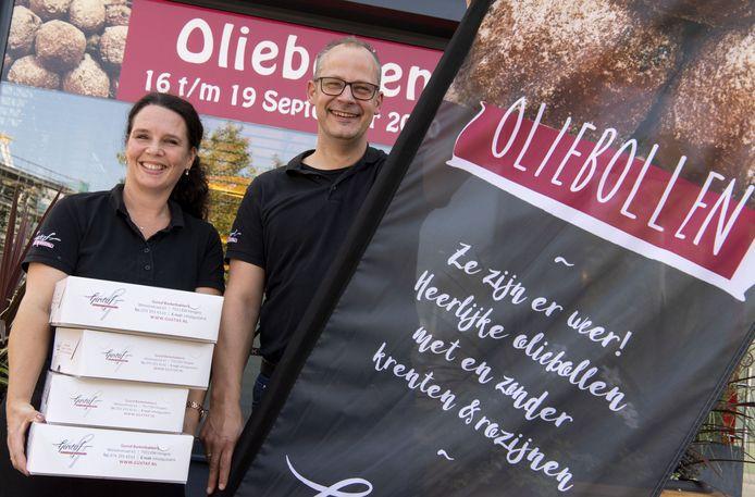 Jan Taken, eigenaar van Gustaf en zijn vrouw Jessica.