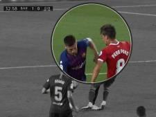 Was deze rode kaart voor Barcelona terecht of niet?
