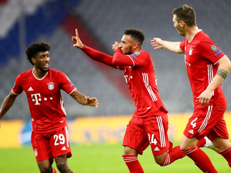 KIJK LIVE. Heersend Bayern München verkoopt Atlético Madrid van Carrasco een oplawaai: 4-0!