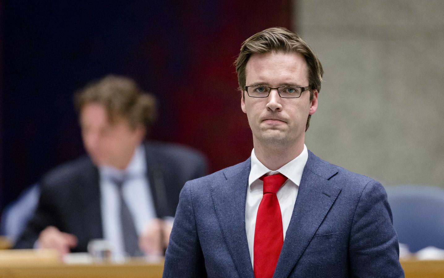Kamerlid Sjoerd Sjoerdsma (D66).