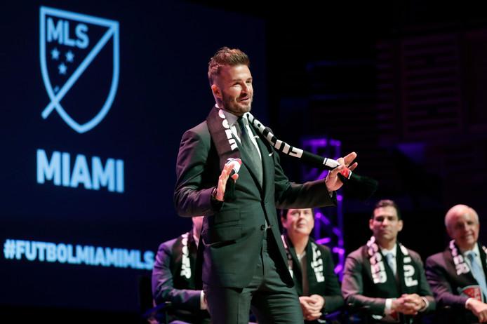 David Beckham, eigenaar van Inter Miami.