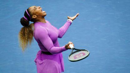"""Serena gaf niet thuis vandaag"""
