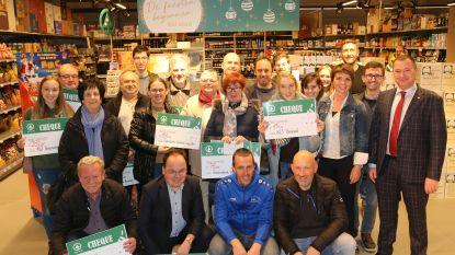 Spar Glabbeek verdeelt ruim 3.000 euro onder lokale verenigingen