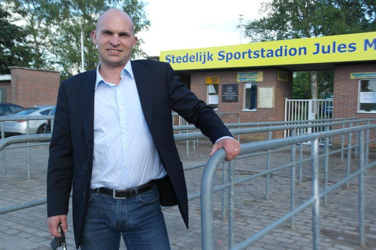 Voorzitter Didier De Baere van Ksv Sottegem ziet af van de subsidies.