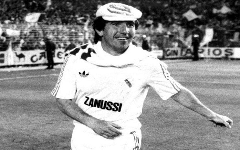 Juanito, speelde van 1977 tot 1987 bij Real Madrid.