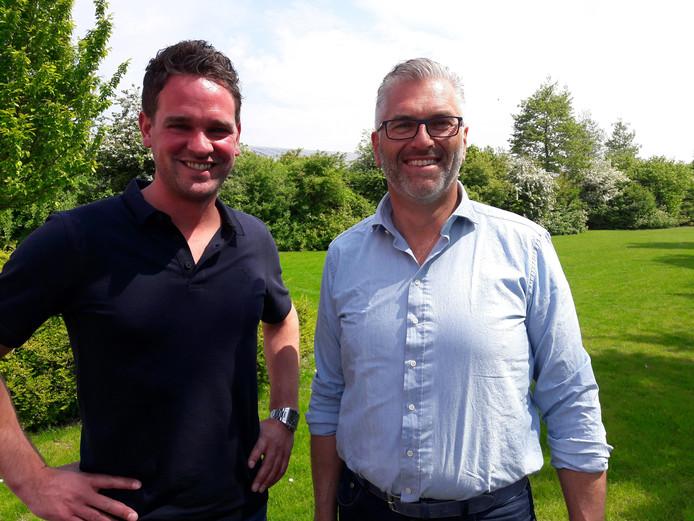 Goof Rijndorp (rechts) en Martijn Corstiaensen van Bras Fijnaart.