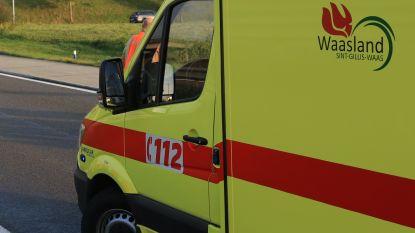 Drie gewonden bij aanrijding in Bergstraat