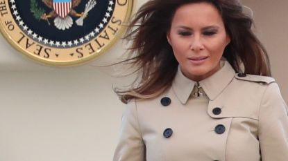 Daar zijn de theorieën over de dubbelgangster van Melania Trump weer