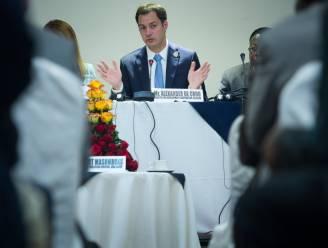 """De Croo: """"Belgische ontwikkelingssamenwerking is baanbrekend op 3 thema's"""""""
