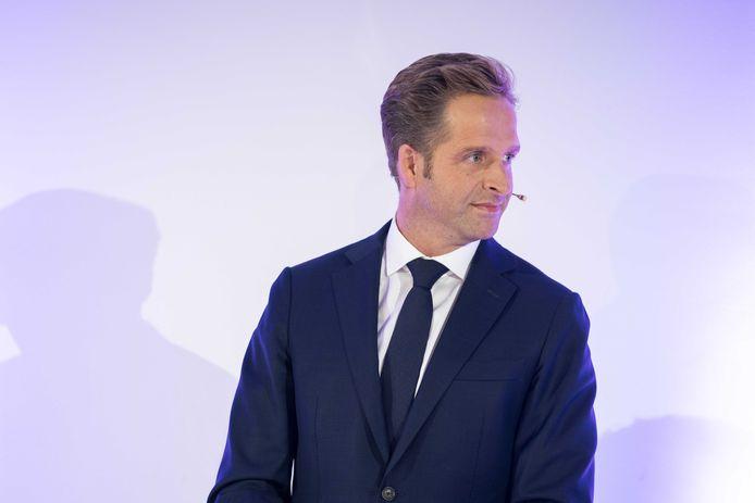 Hugo de Jonge tijdens het recente lijsttrekkersdebat van het CDA in de Jaarbeurs