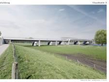 Het begint bij de fietsbrug tussen Cuijk en Mook al ergens op te lijken