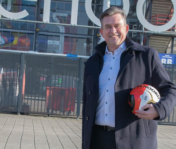 Emile Roemer bij Feyenoord.