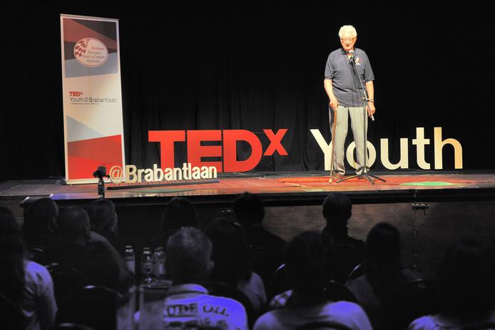 Een boeiende voordracht voor een select publiek, dat is TEDx. Volgend jaar ook in Uden.