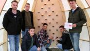 """Studenten bouwen multifunctionele kapel: """"Een plek voor zingeving voor de studenten"""""""