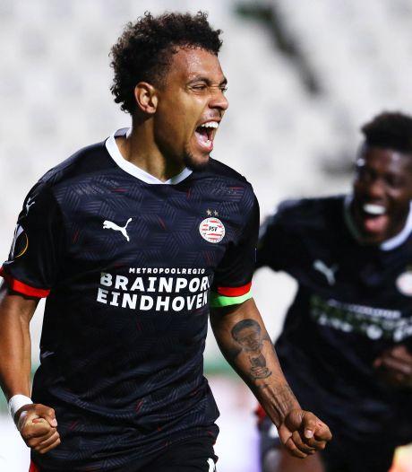 Captain Malen trots op PSV: 'Goed om te zien dat we voor elkaar vechten'