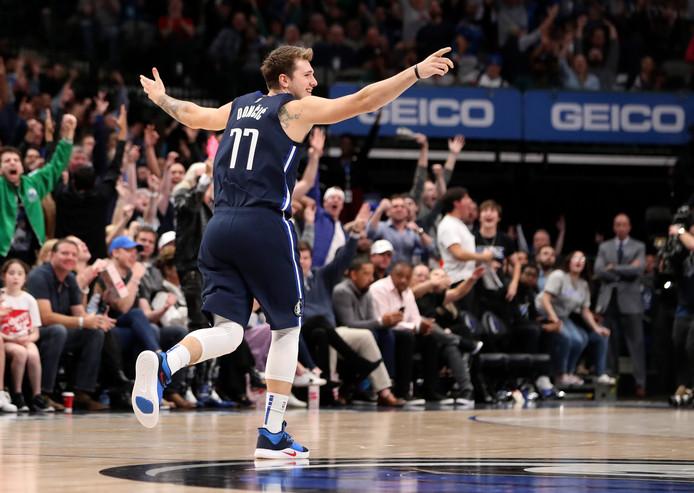 Luka Doncic n'en finit plus d'impressionner le monde de la NBA.