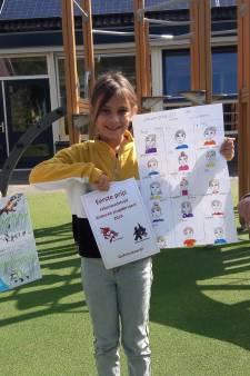 Schoolkinderen uit Oosterbeek maken indruk met tekeningen over de oorlog