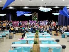 Roosendaalse scholieren vieren Paarse Vrijdag