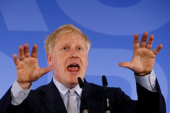 Boris Johnson zei vandaag nog dat hij geen brexit zonder akkoord wil, maar dat het wel kan als noodoplossing.