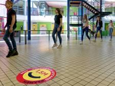 500 stickers als leidraad op De Overlaat en zelfs de leraar werd gemist