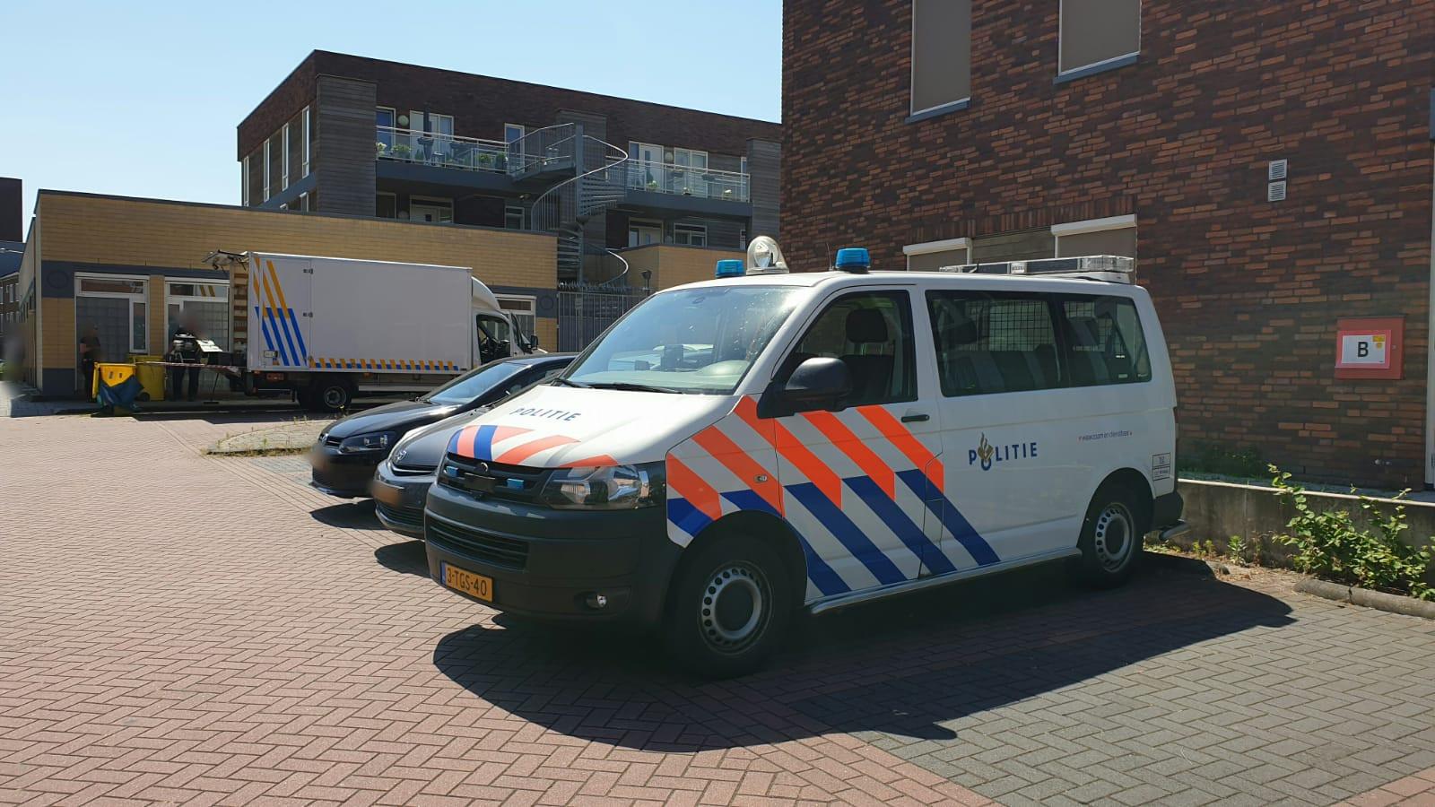 De politie deed onder meer een inval in Enschede.