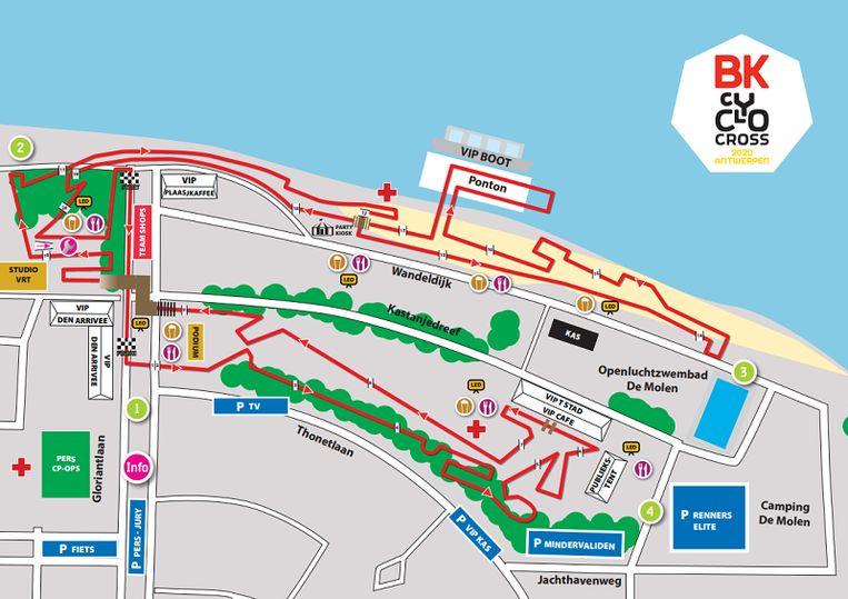 Image result for bk veldrijden 2020 parcours