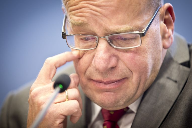 Fred Teeven trad gisteravond samen met Ivo Opstelten af. Beeld ANP