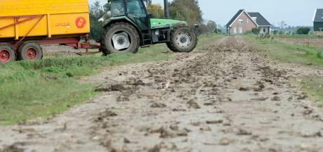 Opgelet voor slik op polderwegen in Zeeland