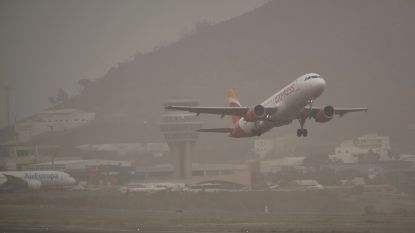 Luchthavens op Canarische Eilanden heropenen nu zandstorm is afgezwakt