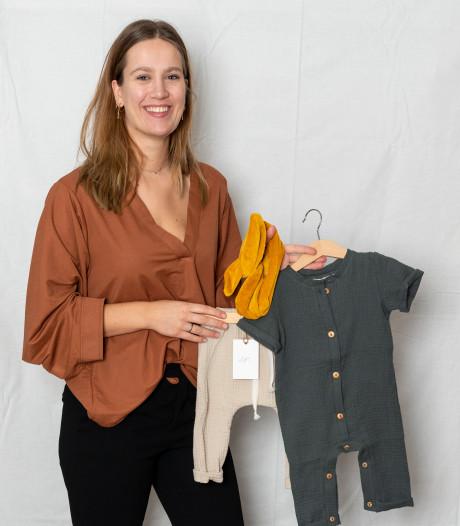 Lisa (24) maakt haar droom werkelijkheid met eigen bedrijf in duurzame babykleding