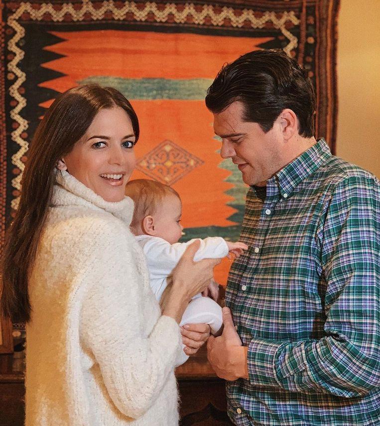 Astrid Coppens met haar broer Laurens Nuyens
