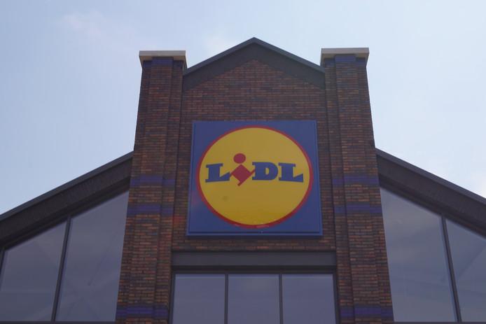 Een supermarkt van de Lidl.